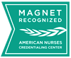 Granted Magnet recognition by the American nurses credentialing center